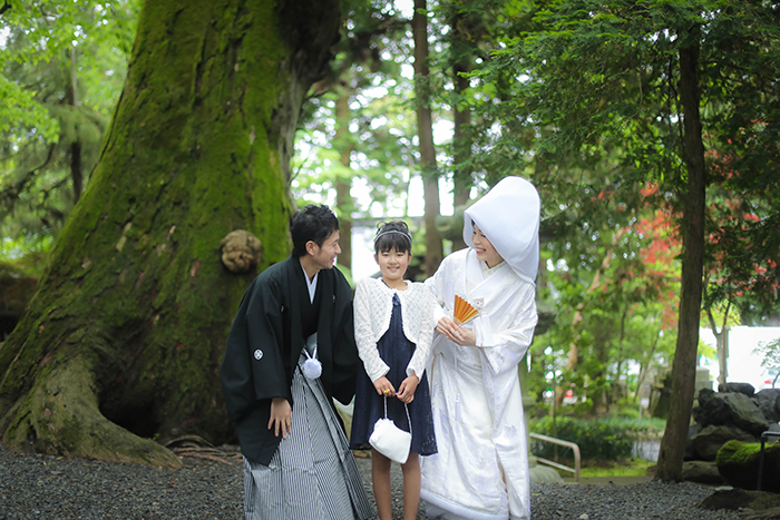 諏訪大社結婚式ヘアメイク