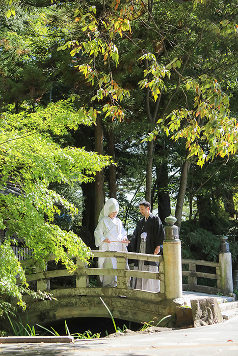 諏訪大社下社秋宮結婚式
