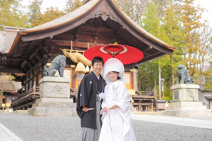 諏訪大社結婚式秋宮