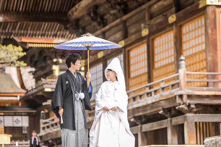 下諏訪町諏訪大社結婚式
