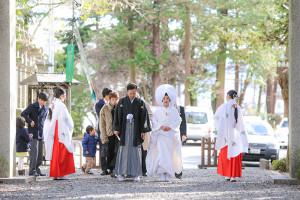 諏訪大社結婚式