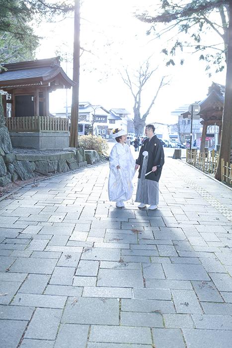 諏訪大社結婚式下諏訪町