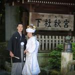 諏訪大社結婚式長野県諏訪市