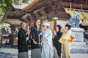 諏訪大社結婚式写真長野県諏訪市