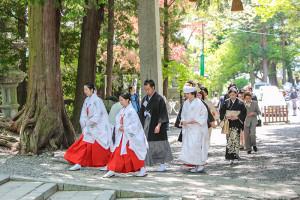 諏訪大社結婚式長野県岡谷市