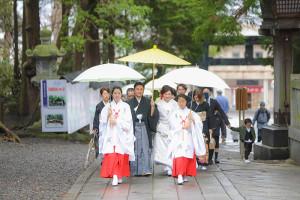 長野県諏訪大社結婚式