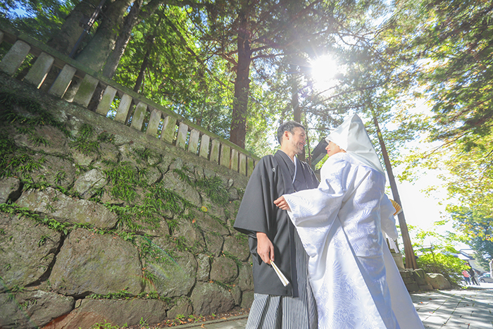 諏訪大社結婚式写真
