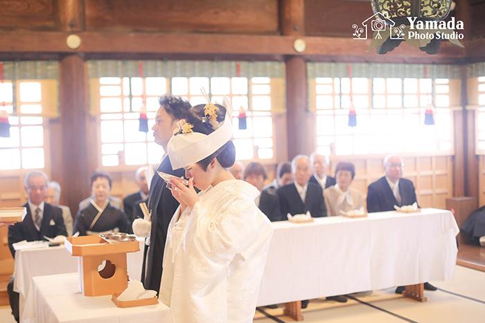 諏訪大社秋宮結婚式