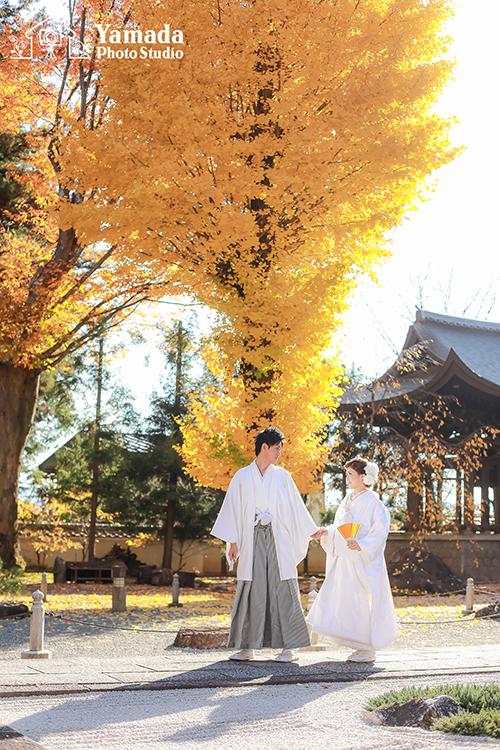 木曽和装結婚写真