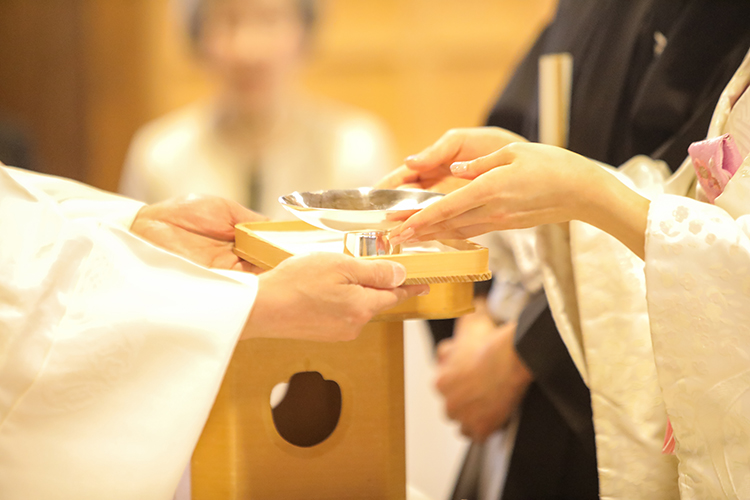 下諏訪神前結婚式