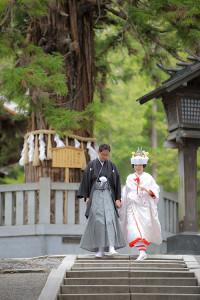 松本和装結婚式