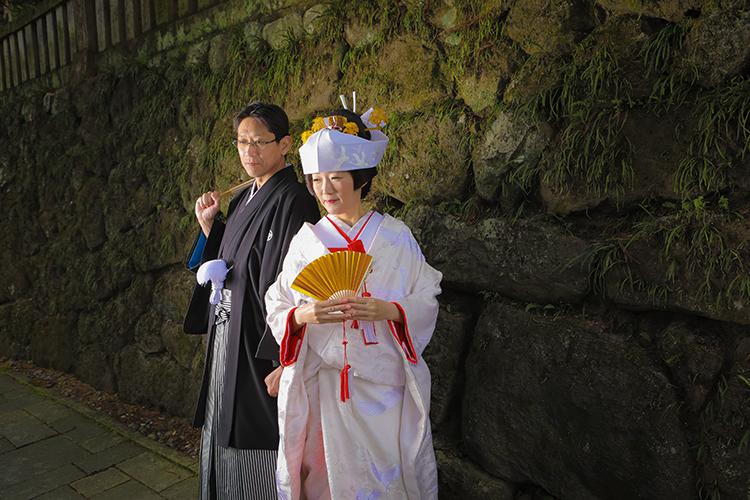 諏訪和装白無垢結婚式
