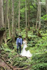 長野結婚写真前撮り