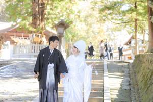 諏訪神社結婚式