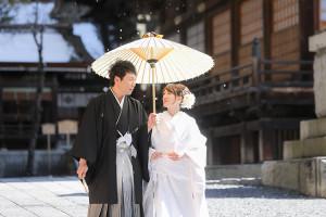 長野諏訪神社挙式