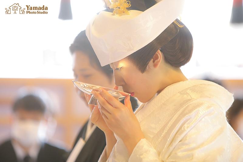 諏訪神社神前結婚式