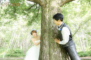 長野山結婚写真