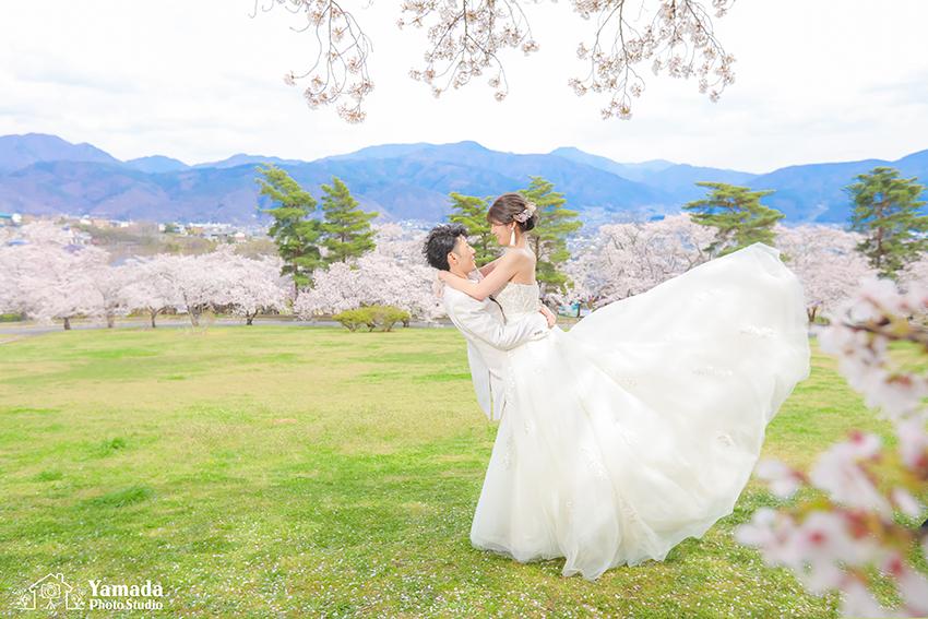 松本桜フォトウディング