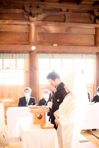 諏訪和装結婚式下社